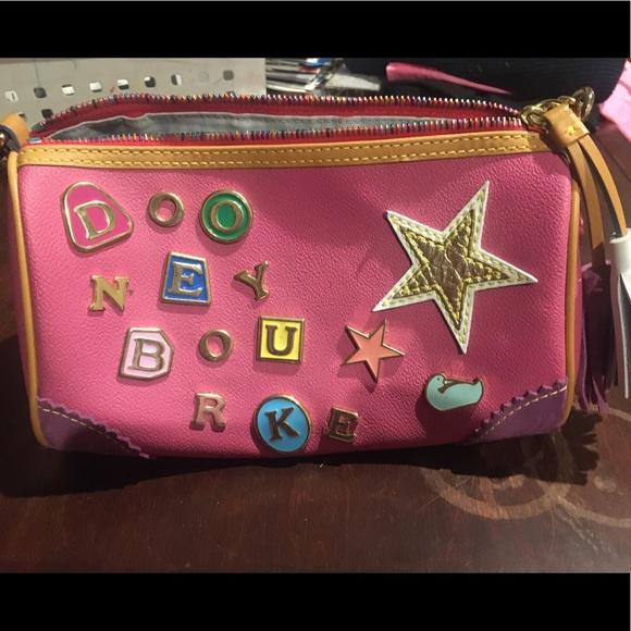 Dooney Bourke colorful purse